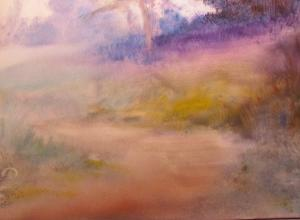 Out of the Woods Part 1- Underpainting with oil wash